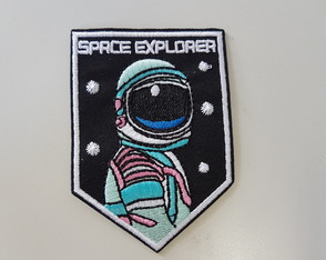 Patch Termocolante Bordado Space Explorer