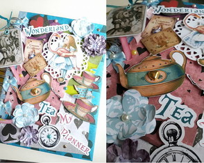 Caderno Planner Alice in Wonderland