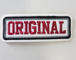 Patch Termocolante Bordado Original