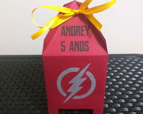 Caixa The Flash personalizada