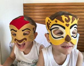 MÁSCARAS DA GUARDA DO LEÃO