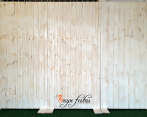 Painel branco Patina - ALUGUEL