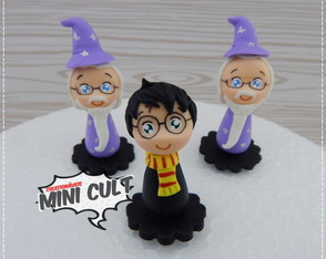 Enfeite de Cuia Harry Potter