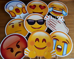 Placas divertidas Emoticons Emojis