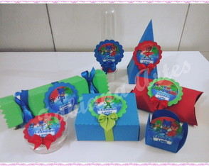 Kit Scrap Festa PJ Masks