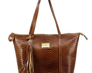 bolsa sacola feminina original oliver mour em couro legítimo 81b90f7dc35
