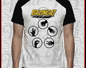 Camiseta do The Big Bang Theory