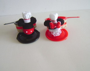 Panelinha Mickey e Minnie Chef Gourmet