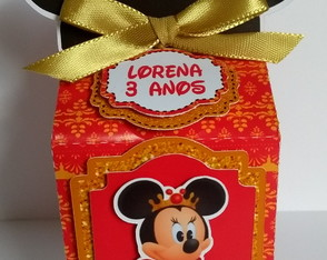 Caixa Milk Minnie Realeza