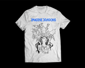Camiseta Masculina Imagine Dragons