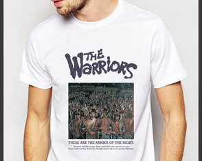 Camiseta Cinema Filme The Warriors Pôster