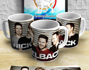 Caneca do Nickelback rock