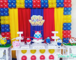 (02) Bonecos Super Wings - Feltro.