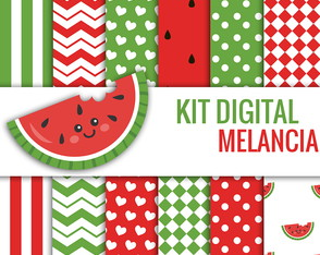 KIT DIGITAL Melancia
