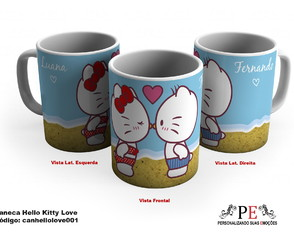 Caneca Hello Kitty Love