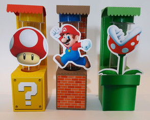 Kit personalizado Super Mario Bros