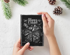 "Placa decorativa MDF ""Pizza"""