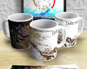 Caneca do Kira Death note