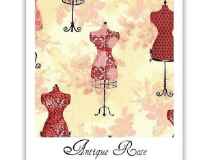 Agenda 2018 - Corset Antique Rose