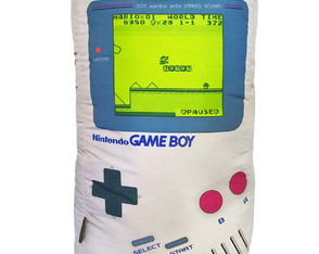 Almofada Gamer Retrô Nintendo Game Boy Super Mario Bros Geek