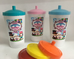 150 COPOS TWISTER TAMPA 500 ML PERSONALIZADOS
