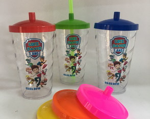 100 COPOS TWISTER TAMPA 500 ML PERSONALIZADOS