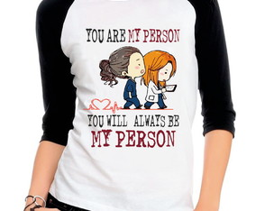 Camiseta Raglan 3/4 Greys Anatomy You Are My