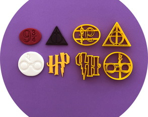 KIT HARRY POTTER ITEM - 4CM
