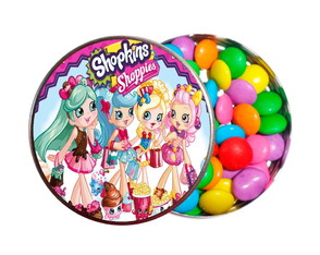 Kit 30 Latinhas Festa Shopkins