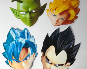 Máscaras Dragon Ball Super
