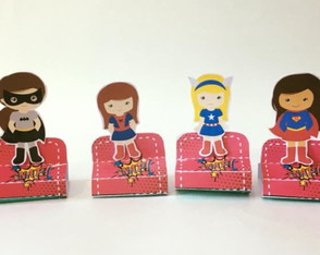 Porta Bis duplo Surper Girls