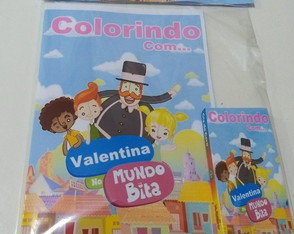 Kit de colorir - Mundo Bita