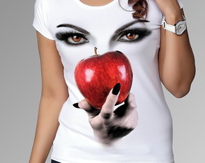 Camiseta/ baby-look ou bata canoa Série Once Upon a Time