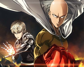 Big Poster do Anime One Punch Man - Tamanho 90x60 cm - LO009