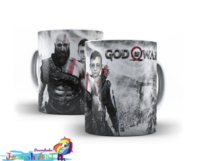 Caneca God of War #003