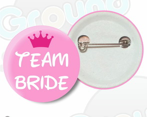 Botton Team Bride Boton Casamento