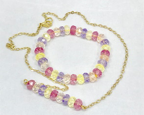 Conjunto Cristal Color