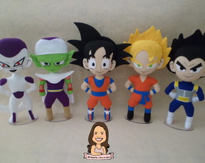 Bonecos Dragon Ball Z