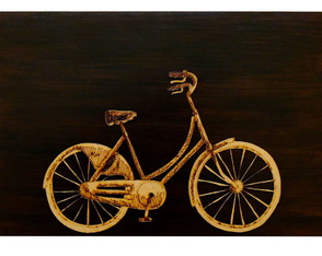 Quadro Decorativo Concept - Modelo Bicycle -60x40 cm