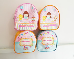 Mochila M Circo Candy Color