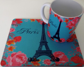 Kit caneca +mousepad Paris 7