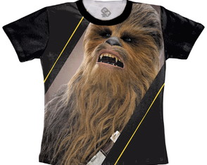 Baby Look ou Camiseta Chewie