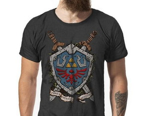 Camiseta The Legend of Zelda Master Sword cod6110