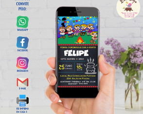 Convite Digital Whatsapp - Festa Junina
