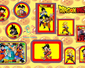 kit festa digital Dragon ball super