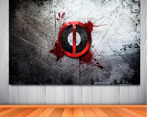 Painel Deadpool Background
