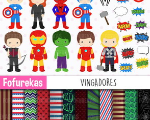 Kit Digital - Vingadores