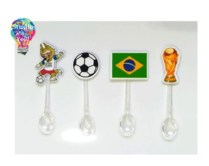 Mini colher topper - Copa do mundo