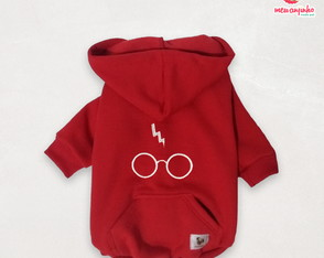 Moletom Pet Harry Potter - TAM M