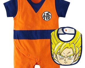 Body Infantil - fantasia anime - Goku Dragon Ball